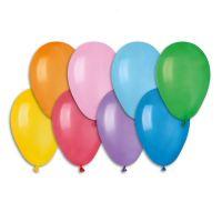 """Balonek nafukovací 7"""" 100ks v sáčku karneval Smart Balloons"""