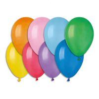"""Balonek nafukovací 8"""" pastelové 100ks v sáčku karneval Smart Balloons"""