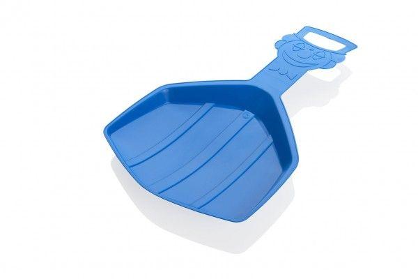 Kluzák Lopata Klaun modrá plast 57x33cm