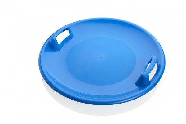 Sněžný talíř Superstar plast průměr 60cm modrý