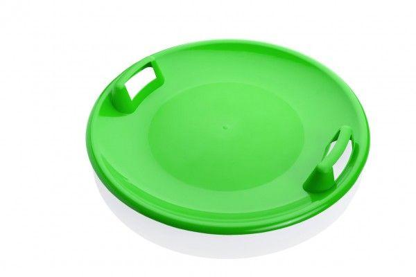 Sněžný talíř Superstar plast průměr 60cm zelený
