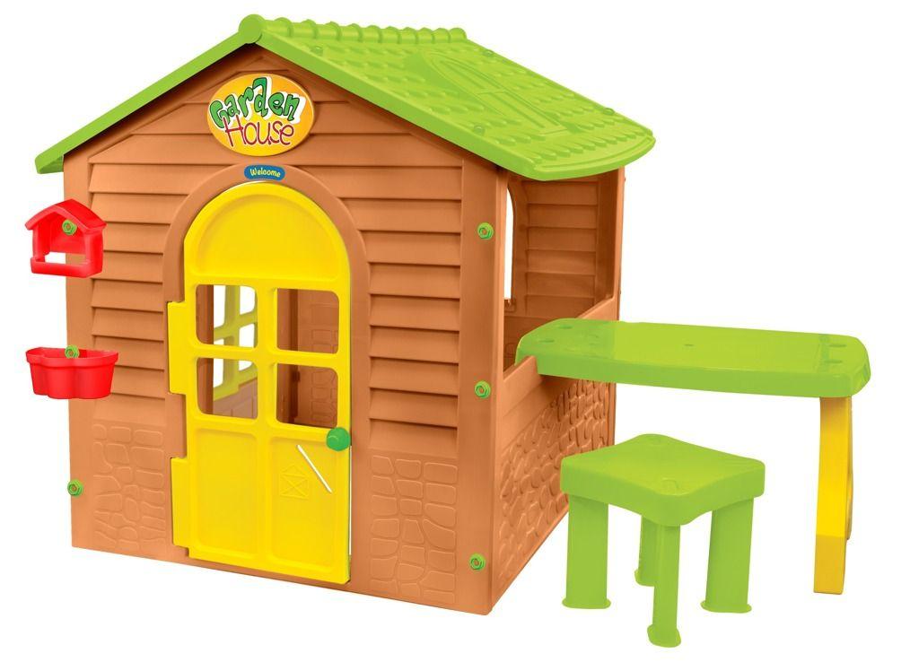 Zahradní domeček se stolkem a židličkou Mochtoys