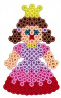 Zažehlovací korálky Hama plast 3000ks + 4 podložky v sáčku 19x21x5cm Lowlands