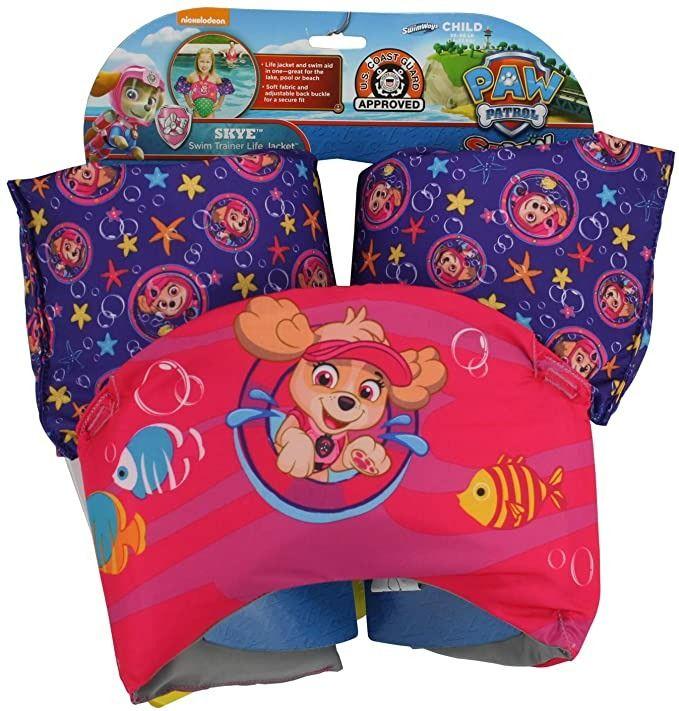 Plavací pás s rukávky Tlapková patrola Skye Swimways Alltoys