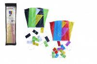 Drak létající nylon 60x45cm barevný v sáčku 10x40cm