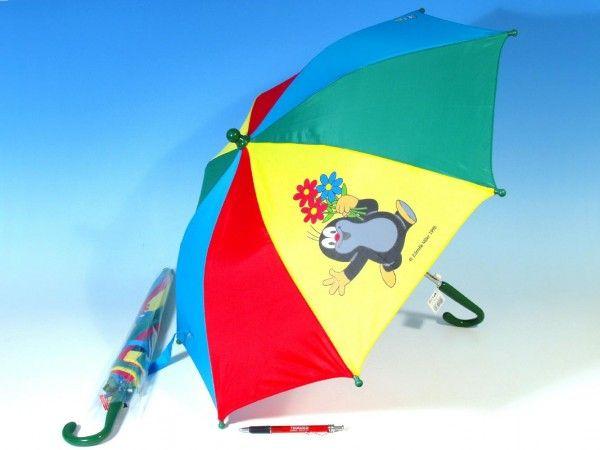 Deštník Krtek mechanický 2 obrázky Rappa