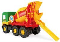 Auto middle Truck plast 38-47cm Wader asst 4 druhy v sáčku