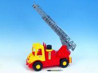 Auto multitruck hasiči plast 43cm v sáčku Wader