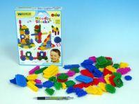 Stavebnice ježci Wader plast 64ks v krabici