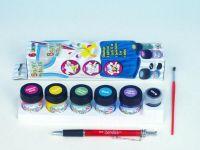 Barvy na textil 6ks v krabičce SMT Creatoys