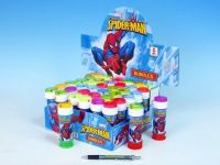 Bublifuk 60ml Spiderman 11,5cm asst 5 barev 36ks v boxu