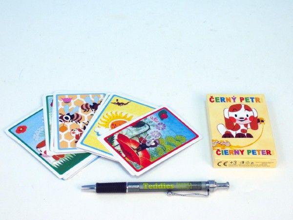 Černý Petr Štěňátko společenská hra - karty v papírové krabičce Akim