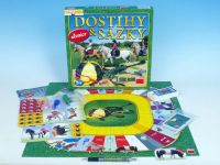 Dostihy a sázky junior společenská hra v krabici 29,5x29,5x4,5cm