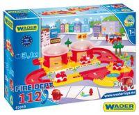Kid cars 3D Hasiči plast 3,1m v krabici od 12 měsíců Wader