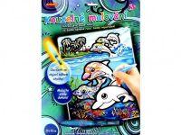 Kouzelné malování vodou 20x25cm asst 3 druhy na kartě SMT Creatoys