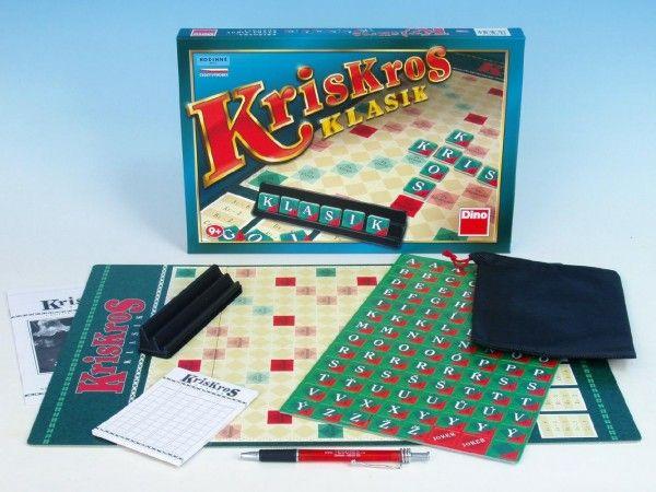 Kris Kros klasik společenská hra v krabici 33x23x3,5cm Dino