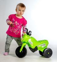 Odrážedlo Enduro Yupee zelené malé plast výška sedadla 26cm nosnost do 25kg od 12 měsíců Teddies