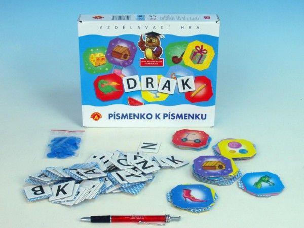 Písmenko k písmenku společenská hra v krabici 24,5x25x4,5cm PEXI