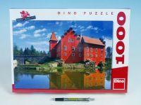 Puzzle Zámek Červená Lhota 66x47cm 1000 dílků v krabici 37x27x5,5cm