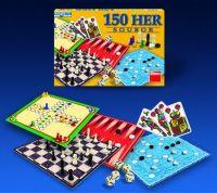 Soubor her 150 společenská hra v krabici 33x23x3,5cm Dino