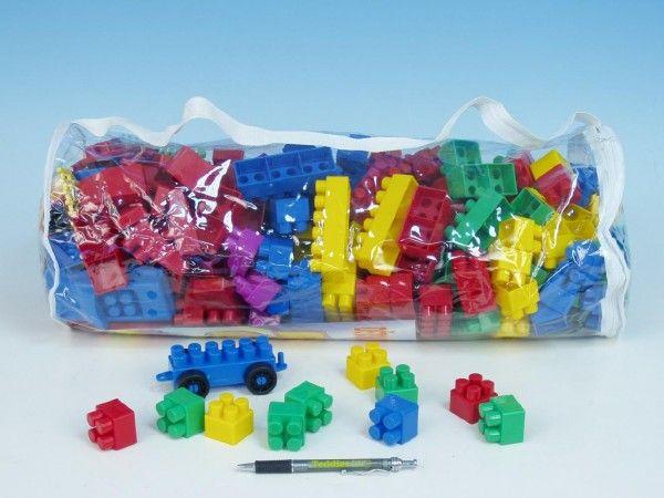 Stavebnice LORI 250 plast 250ks v plastové tašce