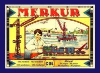 Stavebnice MERKUR Classic C04 183 modelů v krabici 35,5x27,5x5cm Merkur Toys