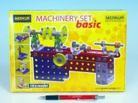 Stavebnice MERKUR Machinery set Basic 10 modelů v krabici 25,5x18x2cm Merkur Toys