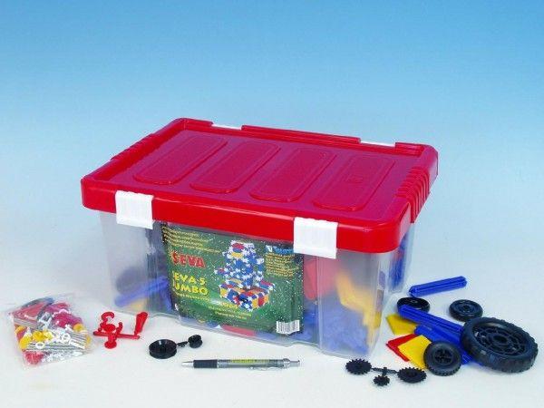Stavebnice Seva 5 Jumbo plast 1064ks v plastové krabici 40x19x27cm Vista