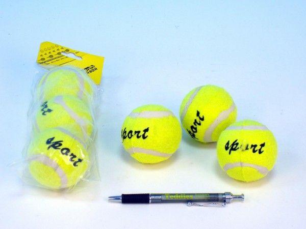 Tenisové míčky 3ks v sáčku UNISON