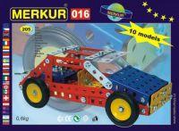 Stavebnice MERKUR 016 Buggy 10 modelů 205ks v krabici 26x18x5cm