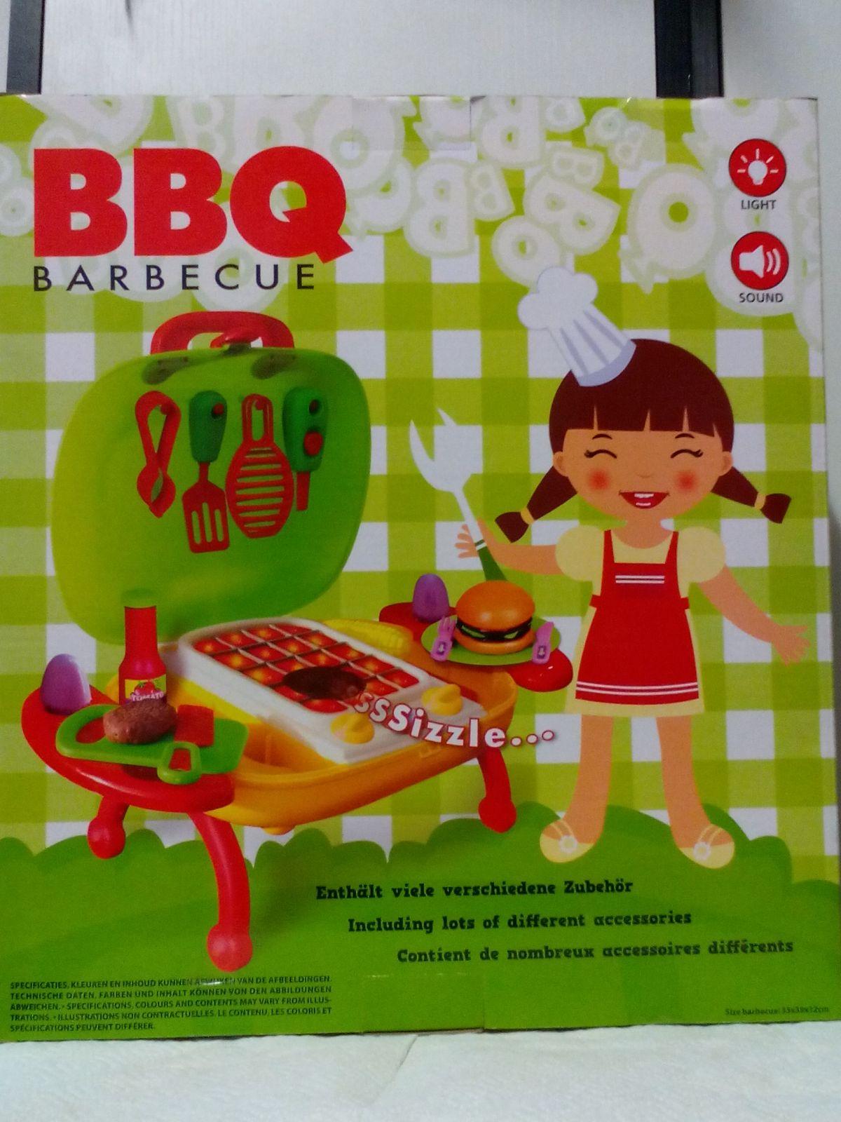 Dětský gril Barbecue pro malé kuchařky kuchyňky plastové VJM