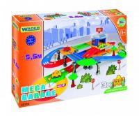 Kid Cars 3D Garáž 2 patra s cestou plast 5,5m Wader