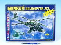 Stavebnice MERKUR Helikopter Set 40 modelů 515ks