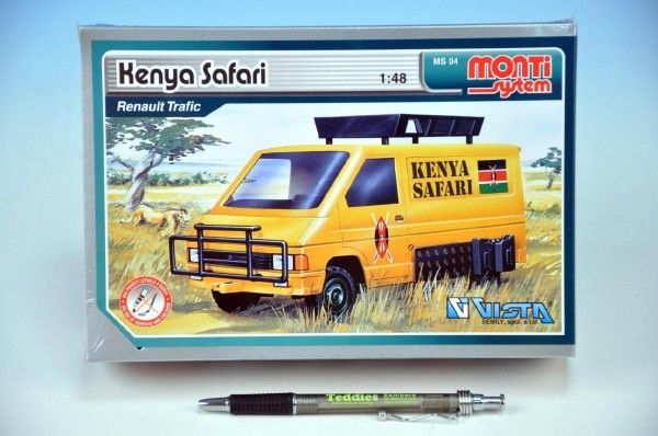 Stavebnice Monti 04 Kenya Safari Renault Trafic 1:48 v krabici Beneš a Lát
