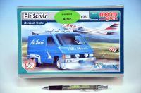 Stavebnice Monti 05 Air Servis-Renault Trafic 1:35 v krabici