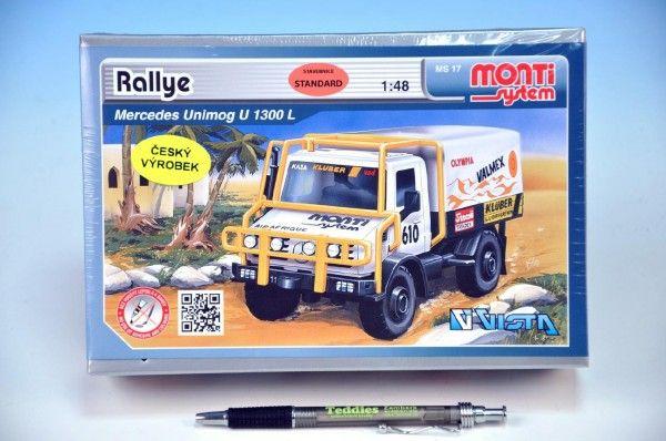 Stavebnice Monti 17 Rally Merced 1:48 v krabici SEVA