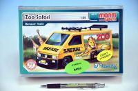 Stavebnice Monti 37 ZOO/Safari-Renault Trafic 1:35 v krabici