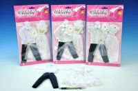 Šaty/Oblečky na panenky Ken a Barbie asst na kartě