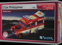 Stavebnice Monti 34 Taxi Filipini 1:35 v krabici Beneš a Lát