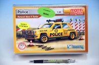 Stavebnice Monti 41 Police-Renault Maxi 5 1:28 v krabici