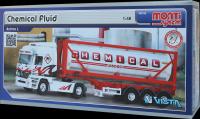 Stavebnice Monti 60 Chemical Fluid Actros L-MB 1:48 v krabici 31,5x16,5x7,5cm SEVA