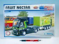 Stavebnice Monti 66 Fruit Nectar Actros L-MB 1:48 v krabici 32x20,5x9cm