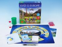 Kvíz o Evropě společenská hra v krabici