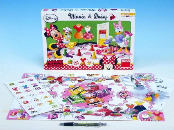 Minnie a Daisy společenská hra v krabici Walt Disney Dino