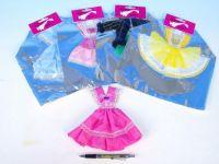 Šaty/Oblečky krátké na panenky asst v sáčku