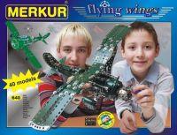Stavebnice MERKUR Flying wings 40 modelů 640ks v krabici Merkur Toys