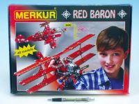 Stavebnice MERKUR Red Baron 40 modelů 680ks v krabici Merkur Toys
