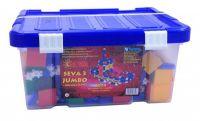 Stavebnice Seva 3 Jumbo plast 1074ks v plastovém boxu Vista