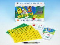 Supermatematik společenská hra naučná v krabici
