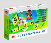 Supermatematik společenská hra naučná v krabici PEXI